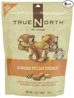 TRUE NORTH Almond Pecan Crunch, 5-Ounce (Pack of 6) by TRUE NORTH