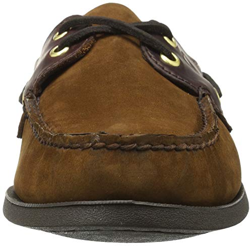 da Eye Suede Brown Barca Authentic Original Sperry Scarpe Uomo 2 4gqna