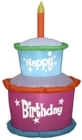 HAPPY BIRTHDAY POSTER CANDLES PRESENTS GIFTS ART WALL LARGE GIANT