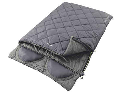 Outwell Contour Lux Adult Sleeping Bag with Double Blue - 225 x 150 x 60 CM, 230090 by Outwell by Outwell