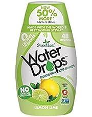 SweetLeaf Waterdrops Natural Stevia Water Enhancer, Lemon Lime, 2.1 Fluid_Ounces