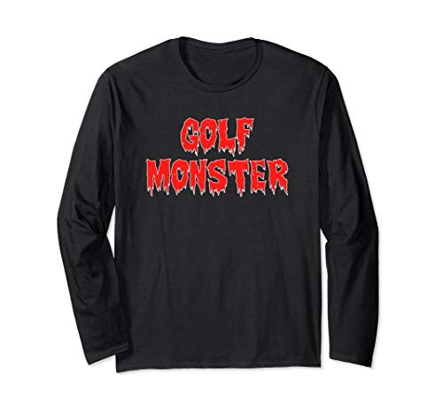 Funny Golf Monster Halloween Costume, Golf Gift -