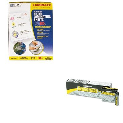 - KITCLI65009EVEEN91 - Value Kit - C-line Antimicrobial Cleer Adheer Laminating Film (CLI65009) and Energizer Industrial Alkaline Batteries (EVEEN91)