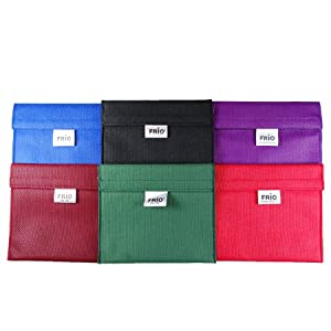 """Frio Extra Small Cooling Wallets - Dimensions - 5.75"""" Wide X 5"""" High"""