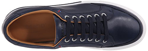Sebago Mens Robinson Lace Up Fashion Sneaker, Navy Leather, 9 M US