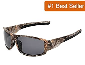 """The Original"" Camouflage Polarized Pro Outdoor Sunglasses by COROTRO"