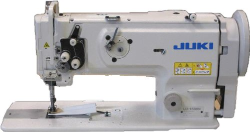 Juki LU-1508NS Industrial Walking Foot Sewing Machine, Vertical Axis Hook, Servo Motor by JUKI