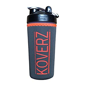 Koverz - #1 Neoprene 24-30 oz Water Bottle Insulator Cooler Coolie - Camo & Orange