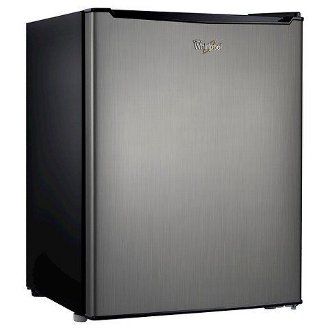 Whirlpool 2.7 Cu. Ft. Mini Refrigerator - Stainless Steel