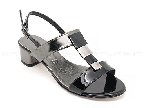 MELLUSO - Sandalias de vestir de Piel para mujer negro