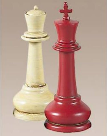 Authentic Models Masters Staunton Chess Set from Authentic Models