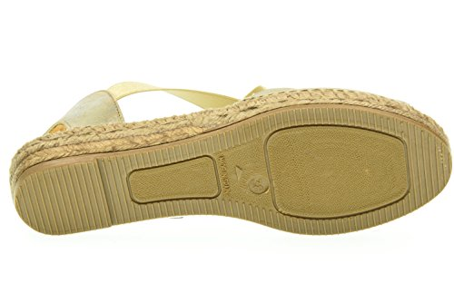 Gold Flat Gold Kanna Espadrille Shoes Ada Sandal Z8EqwfxAq