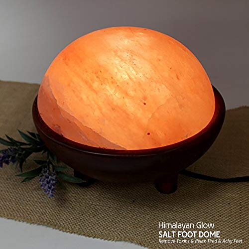 Himalayan Foot Detox Dome Salt Lamp   Remove Toxins & Relax Tired & Achy Feet   8-11lbs by Himalayan Glow (Image #3)
