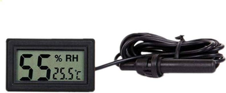 ReFaXi Term/ómetro Digital LCD para Nevera Frigor/ífico Congelador Temperatura con Sonda 1pc
