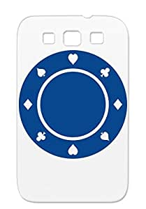 Poker Poker Sports Black Dirtproof TPU For Sumsang Galaxy S3 Case Cover