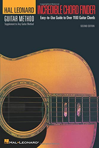 Incredible Guitar Songbook - Incredible Chord Finder - 6 inch. x 9 inch. Edition: Hal Leonard Guitar Method Supplement