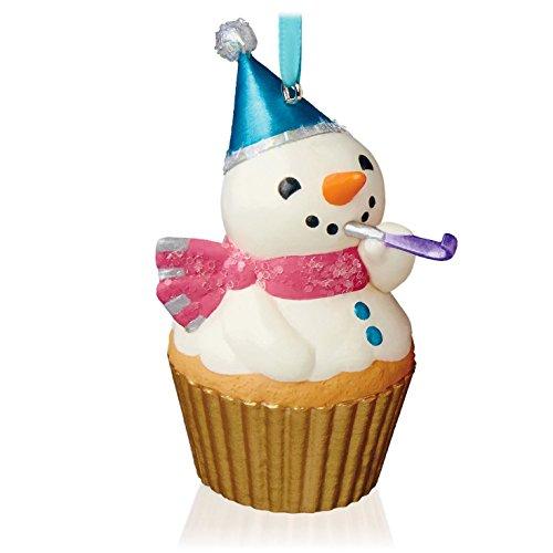 Snowman Keepsake Cupcake Ornament Hallmark product image