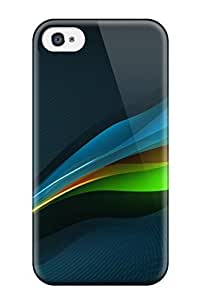 Fashionable Style Case Cover Skin For Iphone 4/4s- Fractals Abstract