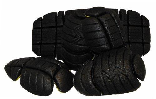 Vega Replacement CE Jacket Armor Set - 5 Piece (Black) (Vega Replacement)