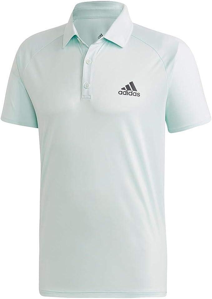 adidas Originals Mens Club C/b Polo, Green/Grey, Medium: Amazon ...