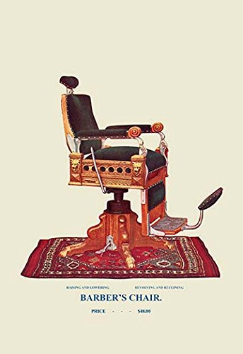 Buyenlarge-0-587-04536-1-P1827-Barbers-Chair-92-Paper-Poster-18-x-27