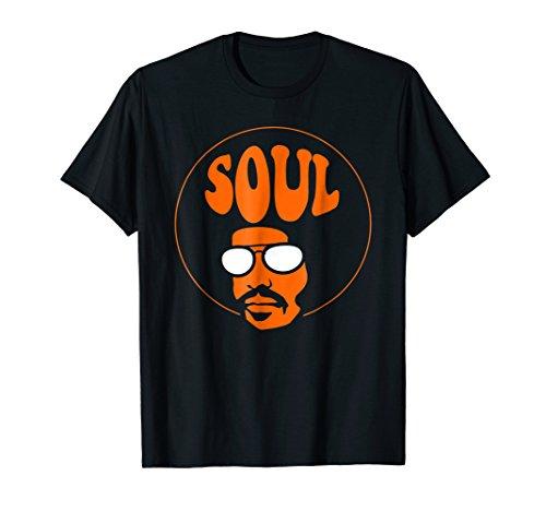 Afro Men Soul and Jazz Funk Music Head Vintage Shirt Gift - Jazz Retro Music