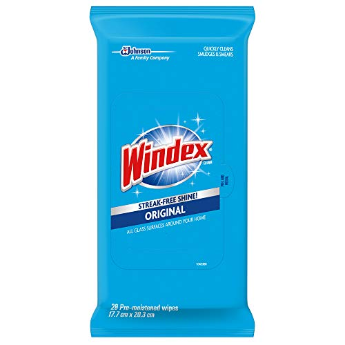 Windex Glass Wipes, Original, 6 Pack, 28 - Around Kids Bathroom Mirrors Quotes