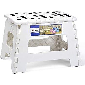 Amazon Com Acko Folding Step Stool Portable Collapsible