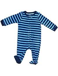 Boys Footed Fleece Sleeper Pajama (Size 6M-5 Years)