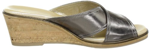 Hans Herrmann Collection HHC 151457-6090 Damen Clogs & Pantoletten Silber (canna di fucile)