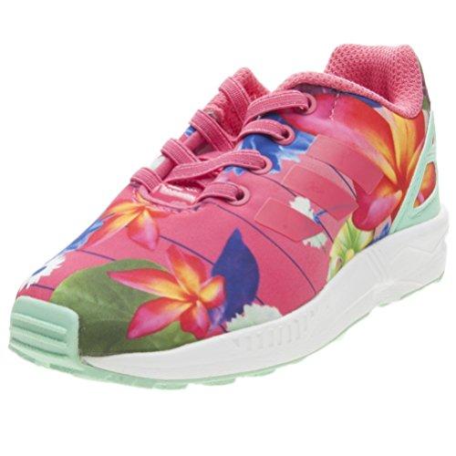 adidas ZX Flux el I, Zapatillas de Deporte Unisex Niños Rosa (Rosrea/Rosrea/Ftwbla 000)