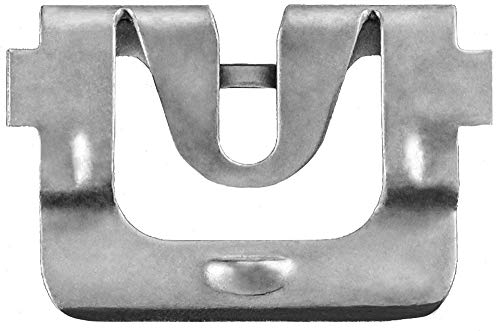 Clipsandfasteners Inc 50 Windshield Reveal Moulding Clips For GM 9854717