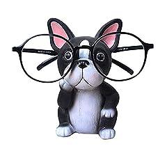 Welpen Hund Form Brillenhalter Halter MQUPIN Brillen Sonnenbrillenhalter f/ür Auto Dekoration Mops beste Geschenk f/ür Kinder Thanksgiving Halloween Black Friday