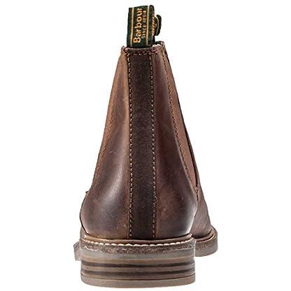 Barbour FARSLEY Chelsea Boots Dark Tan 4