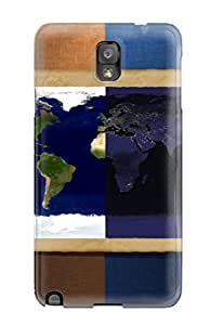 ZippyDoritEduard Case Cover For Galaxy Note 3 - Retailer Packaging Map Protective Case