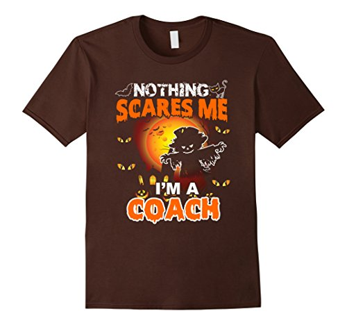 Mens Funny Coach Halloween Gift T-Shirt Large (Coach Costumes Halloween)