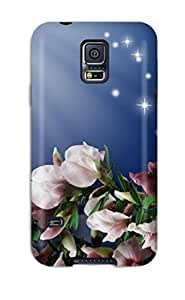 Awesome XCSxz5795kxDYf Shopfavor Defender Tpu Hard Case Cover For Galaxy S5- Butterfly Flowers
