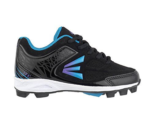 Easton 360 Womens Softball Cleats – Black/Blue/Purple – DiZiSports Store