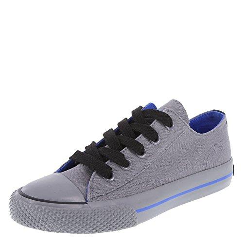 Airwalk Dark Grey Canvas Kids' Legacee Sneaker 13 Regular by Airwalk