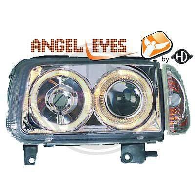 2204380 - Par de faros delanteros de ángel para Polo 6N2 de 1999 a ...