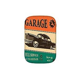 Amazon.com: Garage Retro Poster with Classic Car
