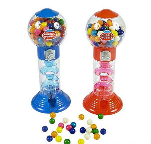 Rhode Island Novelty 10.5 Inch Spiral Fun Gumball Bank | Colors May Vary | One Piece |
