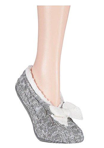 Jennifer Anderton - Zapatillas de estar por casa de Material Sintético para mujer gris