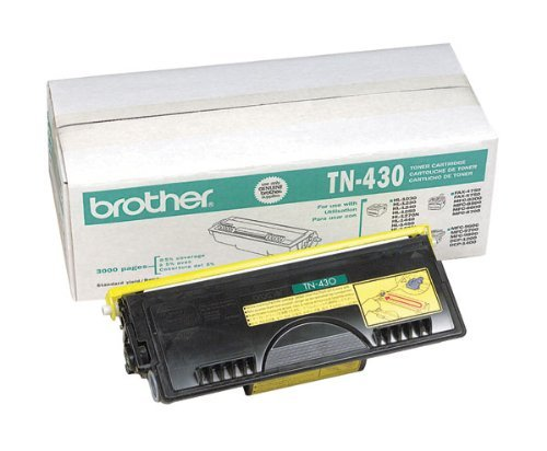 NEW Brother OEM Toner TN430 (1 Cartridge) (Mono Laser Supplies) by Brother