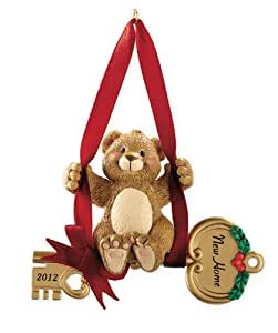 New Home Bear With Key 2012 Carlton Heirloom Ornament