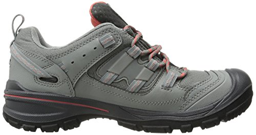 Keen Women's Logan WP Hiking Shoe Neutral Gray/Hot Coral clearance wide range of the cheapest cheap price with mastercard d26M3