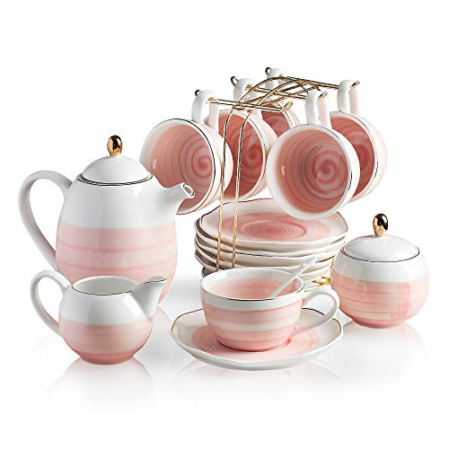 8 cup porcelain teapot - 3