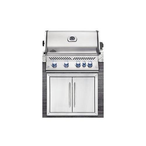 Napoleon Prestige Pro 500 Built In Propane Gas Grill, Stainless Steel Napoleon