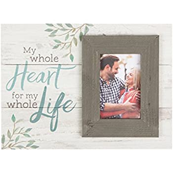 P Graham Dunn Bless Home Love /& Laughter Whitewash 17.5 x 17 Wood Wall Hanging Photo Frame Plaque