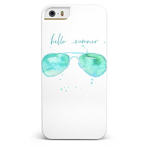 Hello Summer Sunglasses iPhone 5/5s or iPhone SE - Ultra High Gloss INK-Fuzed Case